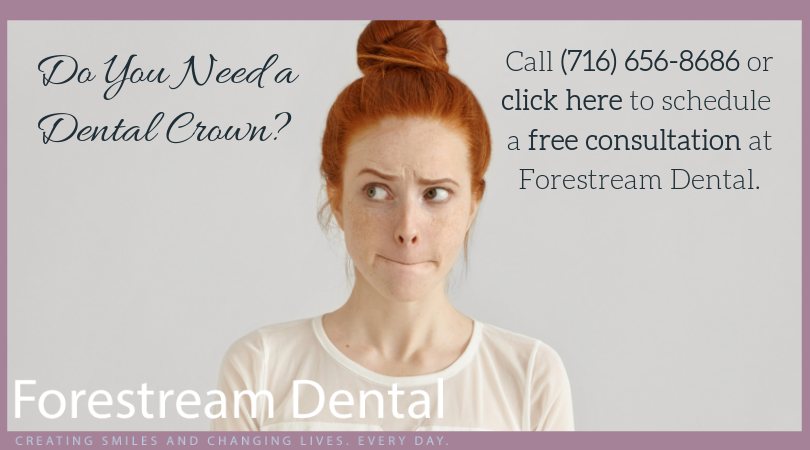 Do you need a dental crown? | Forestream Dental in Depew